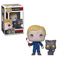 Funko pop Pet Sematary Gage and Church Model PVC Action Figure Collectible Model Toys for Children Birthday gift