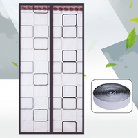 High Quality Summer Windproof for Air Conditional Anti Mosquito Insect Fly Bug Curtain Automatic Door Screen Kitchen Curtain
