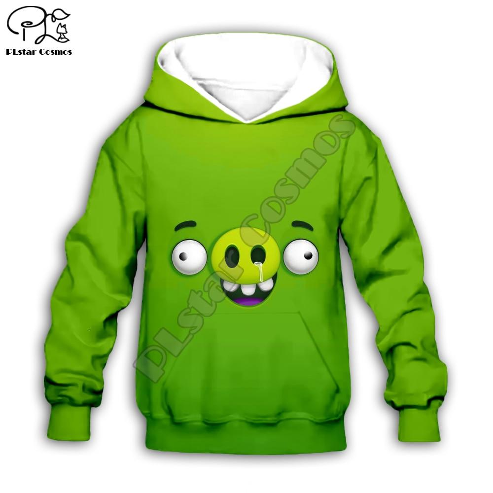 New Movie Angry Cartoon Toon Birds Chlidren Cloth Set Kids 3d Print Hoodie Zipper Baby Girl Boy Sweatshirts T Shirts Shorts Pant