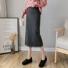 Сексуальная Женская юбка осень 2020 Корейская высокая талия