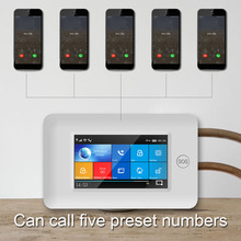 Free Shipping via DHL PG106 WIFI+GSM GPRS Wireless Home Security Alarm System 1080P HD Surveillance IP Camera APP Remote Control