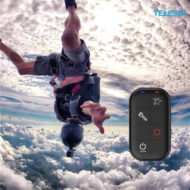 TELESIN Smart Wireless Wi-Fi Remote Control Water-resistant for GoPro Hero 7/6/5/4/3+/3/ 4 Session Sports Action Camera 5