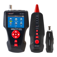 Noyafa New Design NF 8601 POE PING LCD Cable Length Test For RJ11 RJ45 BNC Network Cat 7 Cable Tester Wire Check