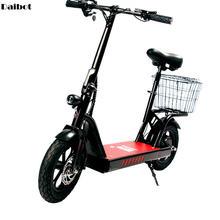 Электрический велосипед 400 Вт 48 в два колеса электрические