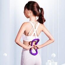 2 шт. кольцо для йоги, пилатеса, кольцо для фитнеса, круг, тренировка, сопротивление, поддержка, инструмент для массажа, тренировки пилатеса, бодибилдинга, упражнений