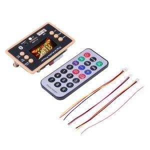 Image 5 - Nowa płyta modułu dekodującego dekodera MP3 12V Bluetooth 5.0 samochodowy odtwarzacz MP3 USB WMA WAV obsługa karty TF moduł zdalnego sterowania USB FM