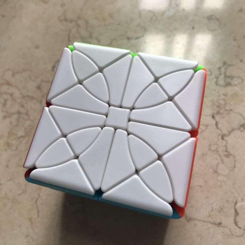 Le plus récent Cube de collège Fangshi Funs Morpho Aureola Cube magique jeu de Puzzle Cubo magico jouets éducatifs pour les enfants