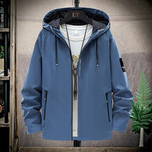 2021 Spring And Summer New High Mountain Jacket Men's Street Windbreaker Hoodie Zipper Thin Jacket Men's Casual Jacket 5XL