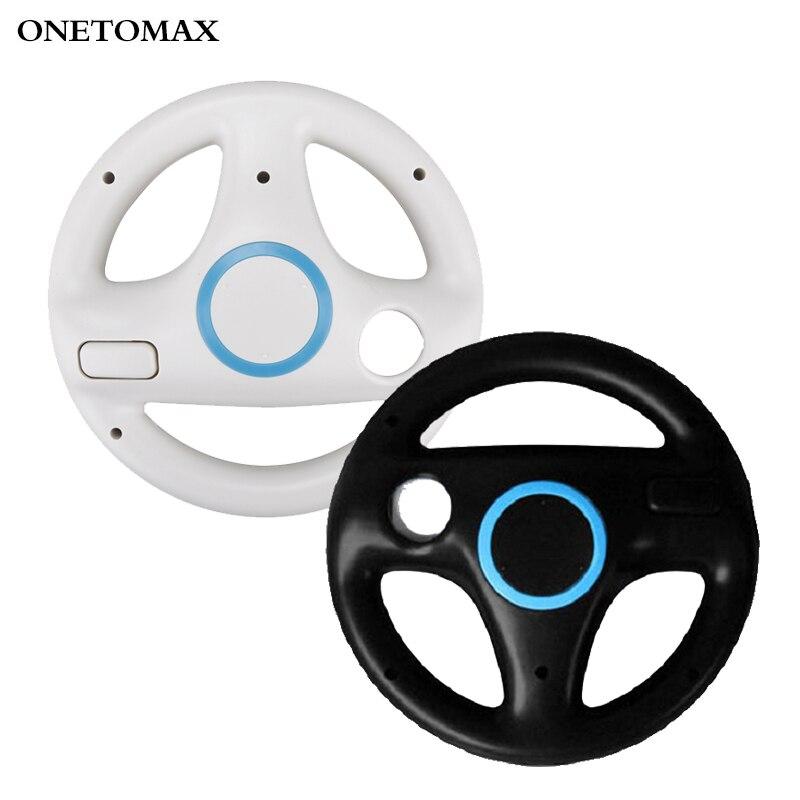 Рулевое колесо для гоночных игр, 2 шт./компл., пульт дистанционного управления для Nintendo Wii, игровой контроллер для Марио, карт, гоночных игр