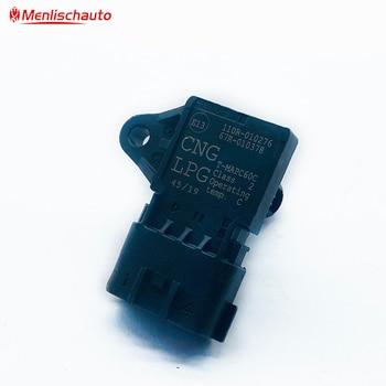 Бесплатная доставка, оригинальная карта, датчик всасывания воздуха, турбокомпрессор давления CNG LPG 110r-010276 110r010276 67R-010378 67R010378