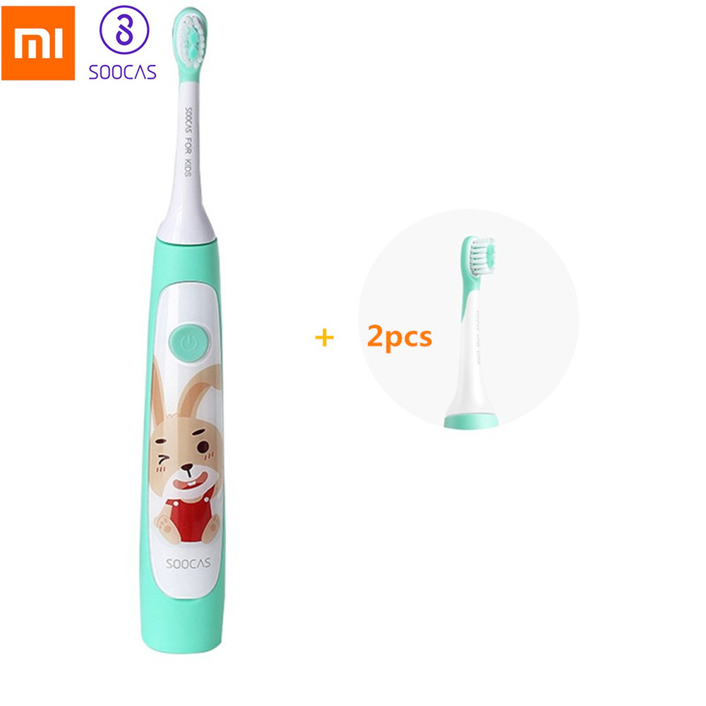 SOOCAS C1 Sonic Electric Toothbrush For Baby Kids Waterproof Rechargeable Cute Smart Ultrasonic Toothbrush Dental Care