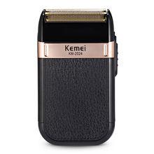 Электробритва kemei для мужчин Перезаряжаемый usb триммер бороды
