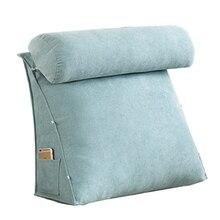 Bedside Backrest Cushion Large Triangle Back Support Orthopedic Seat Comfort Decoracion Hogar Nordico 40KOA94