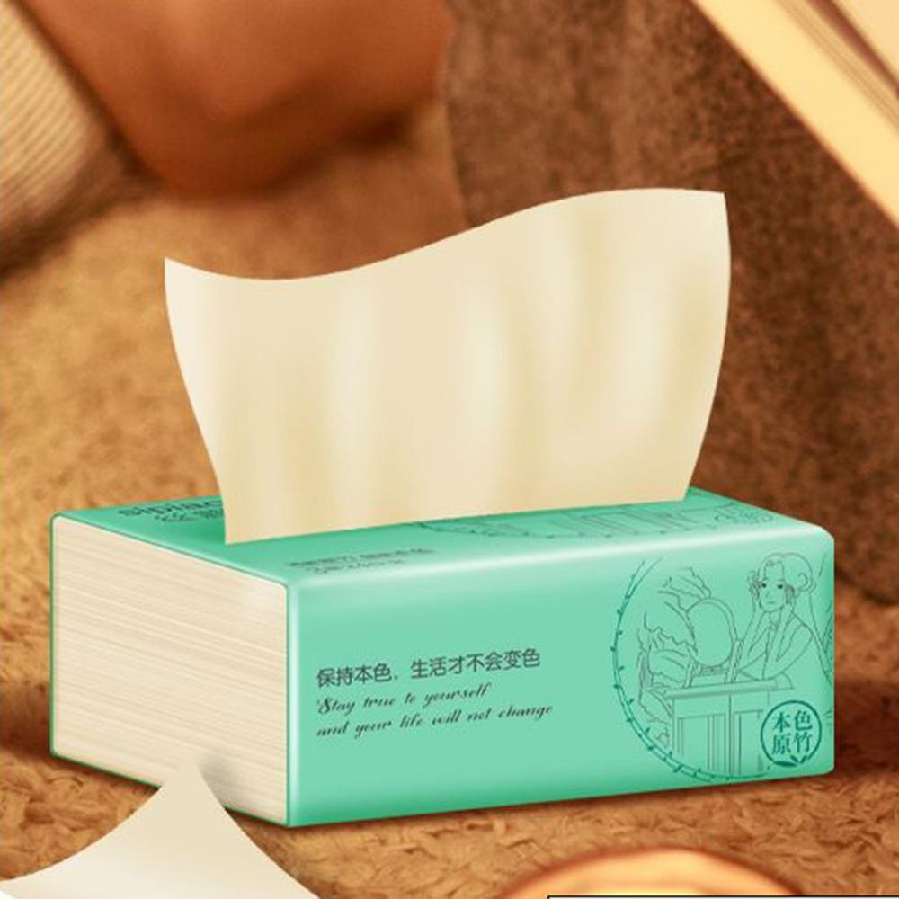 Sipiao 3 Layers Portable Bamboo Pulp Paper Natural Paper Towel Papers Toilet Paper Available For Mothers And Babies
