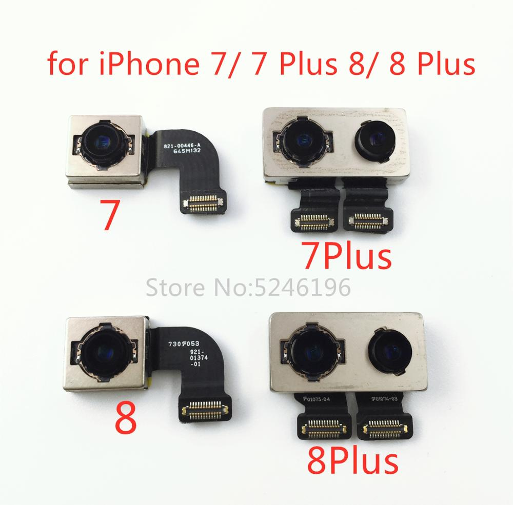 Original Big Camera Rear Camera Back Camera Module Flex Cable For IPhone 7 7 Plus 8 8 Plus Replacement Repair Parts。