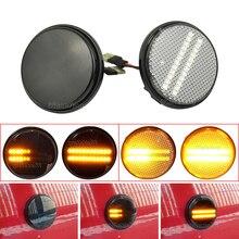 Turn Signal Dynamic LED Side Marker Light Repeater Lamp Flowing Indicator For Mazda MX5 MX 5 MK1 MK2 MK3 1989 2015