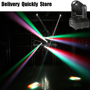 Show Time Mini 10W Beam RGBW 4 IN 1 LED Moving Head Lighting LED Stage Light Good For Home Party DJ Disco Wedding Decoration can charge mini both head energy saving originality led to beam the lantern show meeting wireless move downlights lo463