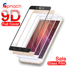 9D Protective Glass For Xiaomi Redmi Note 4 4X 5 5A Pro Screen Protector For Redmi 5 Plus S2 4X 5A Tempered Glass Film Case
