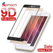 9D verre de protection pour Xiaomi Redmi Note 4 4X5 5A Pro protecteur décran pour Redmi 5 Plus S2 4X 5A étui de Film de verre trempé