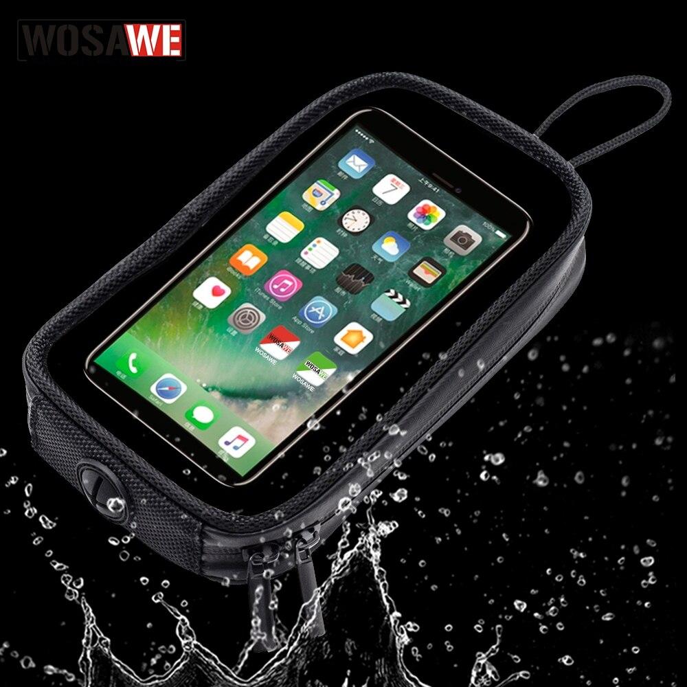 Magnetic Motorcycle Tank Bag Waterproof Motorbike Saddle Bag Single Shoulder Bag Backpack Luggage Phone Case For IPhone Xiaomi