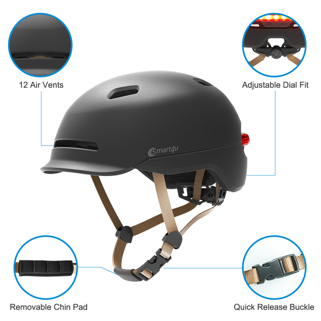 2 in1 bicicleta lâmpada de ciclismo luz da cauda inteligente adulto capacete da bicicleta do miúdo capacete mtb estrada scooter para xiaomi esporte urbano capacete 2