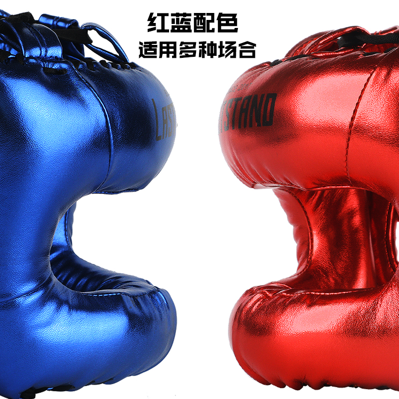 Профессиональный шлем для взрослых мужчин и женщин для кикбоксинга sanda mma полная защита для защиты носа свободный боевой луч Полный лицевой головной убор