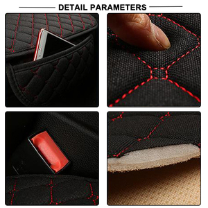 Image 4 - Car Seat Covers Set Cushion Four Season General Mat Cover Car Anti Slip Breathable For Car Home Automobiles Interior Accessories