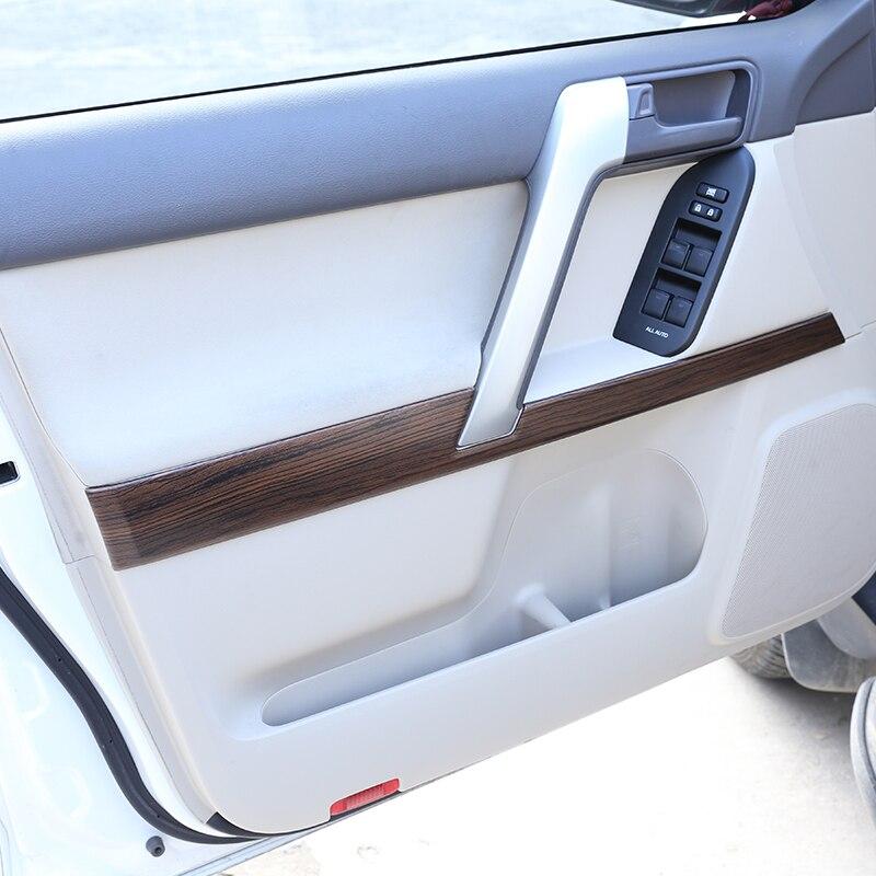 Interior Center Console Stripe Decorative Trim For Toyota Prado FJ150 2010-2018