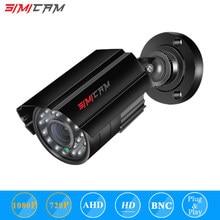 SIMICAM 2.0MP HD 1080p 1920TVL Security AHD Camera Outdoor Indoor 24PCS LEDs 120ft IR Night VisionWeatherproof Surveillance CCTV