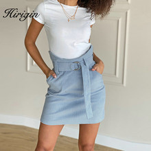 2020 Spring Autumn Corduroy Skirt Ladies Fashion High Waist Skirts Women's Casual Fashion  Mini Saias Mujer