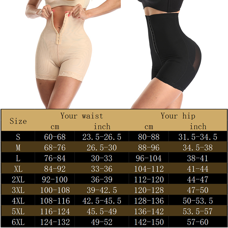 Image 2 - High Waist Control Panties for Belly Recovery Shaper Butt Lifter Slimming Underwear Postpartum Hip Enhancer Shapewear Plus Size-in Control Panties from Underwear & Sleepwears