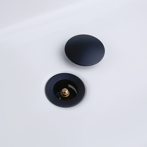 Image 4 - Smesiteli Bathroom Bathtub Non Porous Drainer Dumb Black Bathroom Hotel With Durable Kitchen Sewer Plug