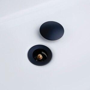 Image 4 - Ванна для ванной Smesiteli, непористый Слив для ванной комнаты, черного цвета, для отеля, с прочной кухонной пробкой