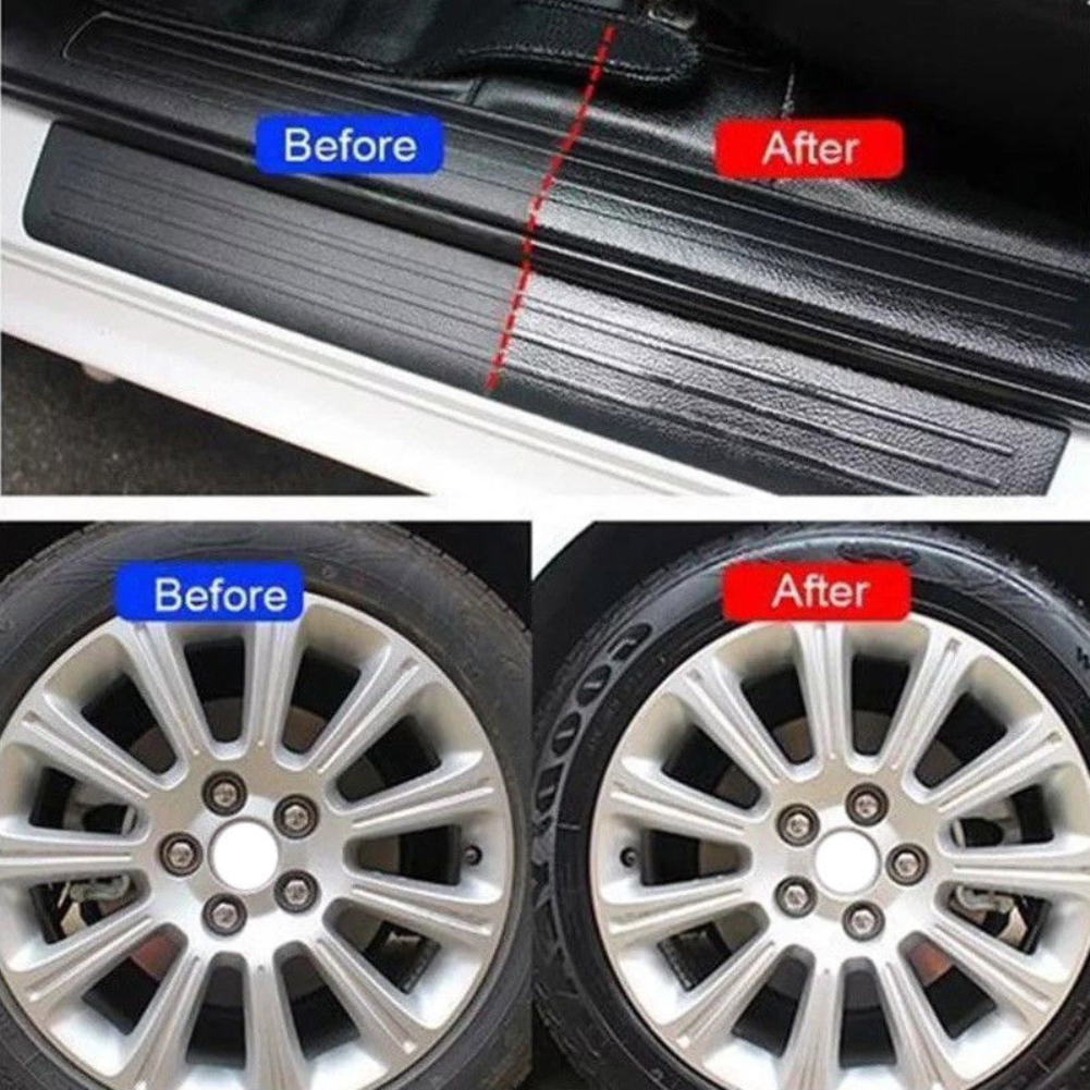 50/120ml Auto Multifunctional Waxing Car Interior Cleaning Tool Tire-wheel Dedicated Refurbishing Agent Cleaner Car Accessories