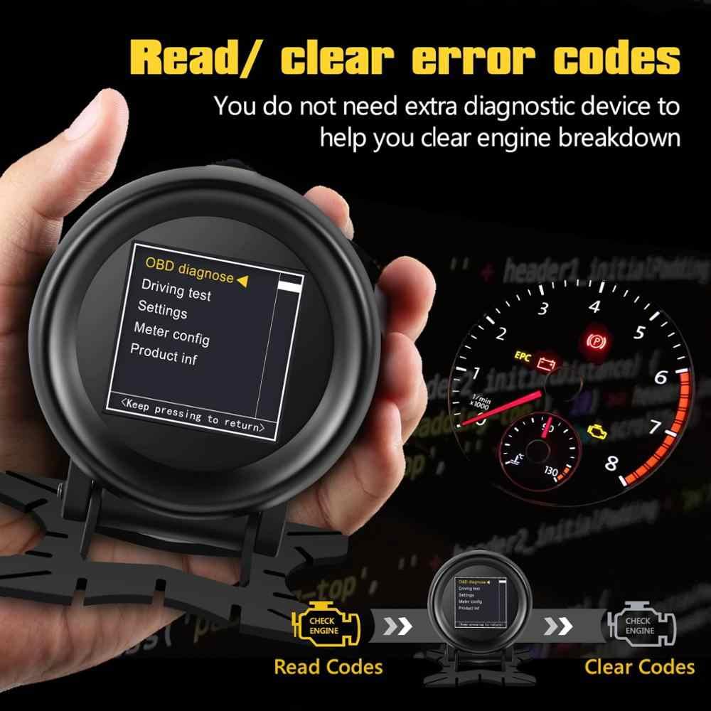 AUTOOL X60 헤드 업 디스플레이 자동차 온보드 컴퓨터 Hud Obd2 Ii 자동차 엔진 코드 리더 디지털 미터 속도계 진단 도구