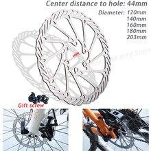 Disque de freins mécaniques pour vtt, 120/140/160/180mm/203m