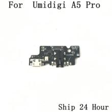 オリジナルumidigi A5プロusb充電ボード + イヤホンジャックためumidigi A5プロ修理固定部品交換送料無料