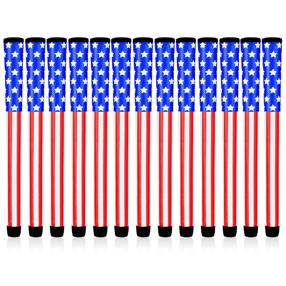 New USA Flag Golf Grips 8x  Standard