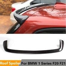 Pour BMW F20 F21 Spoiler 2012 - 2020 1 série 116i 120i 118i M135i fibre de carbone pour F20 F21 aileron de toit arrière FRP gris