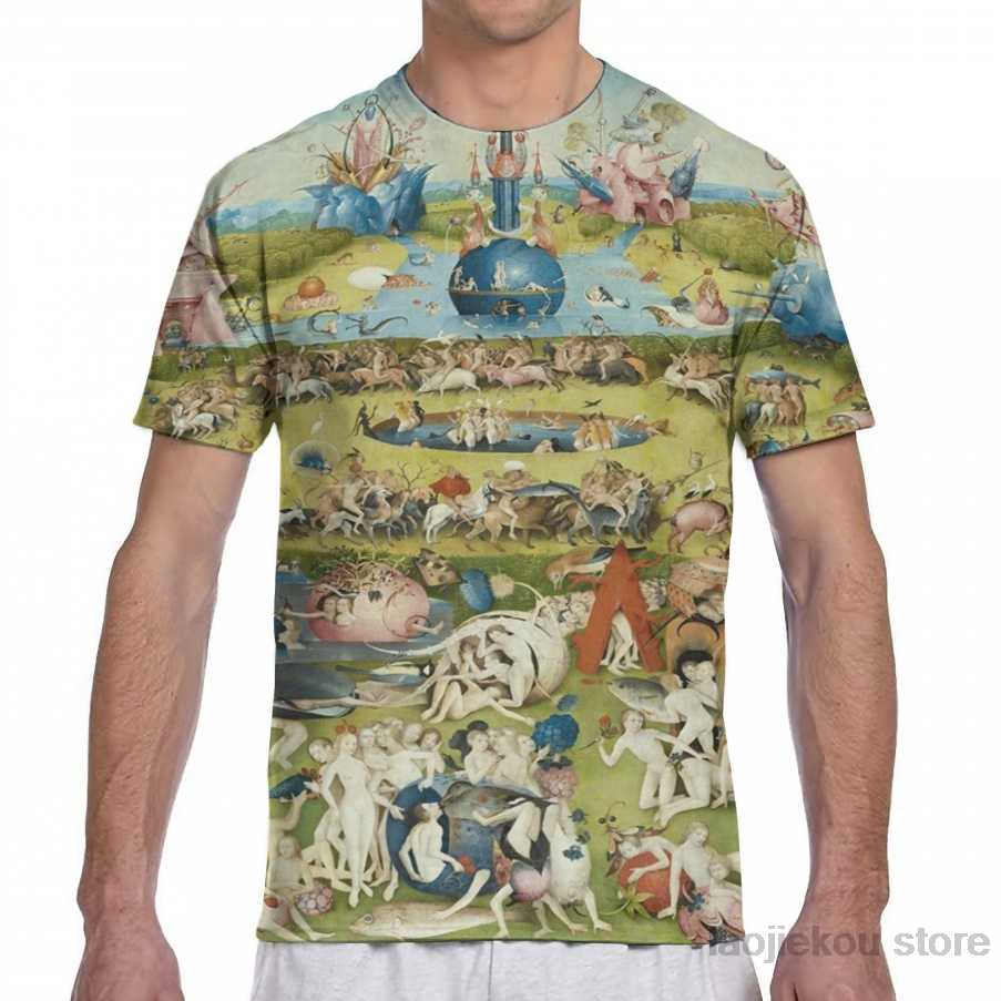 The Garden of Earthly Delights - Hieronymus Bosch men T-Shirt women all over print fashion girl t shirt boy tops tees