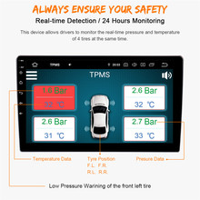 MS Auto Tire Pressure Monitoring System Drahtlose tpms mit 4 Externe Sensoren fit für Android 7.1 Androi8.0 8,1 9,0 PX5 PX6 PX30(China)