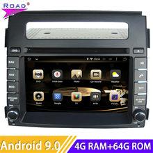 Roadlover – Autoradio Android 10.0, Navigation GPS, Magnitol, Double Din, Octa Core, lecteur DVD, stéréo, unité centrale pour voiture KIA Soul (2012)
