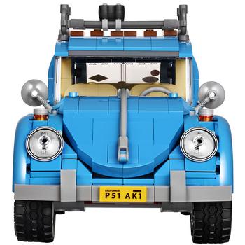 Creator Series City Car Volkswagen Beetle model building blocks bricks Compatible 10252 MINI car boys girl Toys Christmas Gift image
