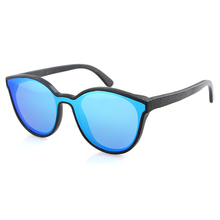 2020 italy design luxury brand women cat eye one lenses sunglasses blue festival