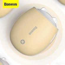 Baseus 4000mAh Doppel-seite Wiederaufladbare Hand Wärmer Heizung Reise Mini LED Elektrische Handliche Heizung Wärmer Notfall Power Bank