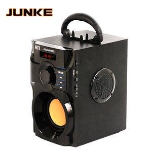 Image 1 - JUNKE 2.1 haut parleurs stéréo et Subwoofer Bluetooth haut parleur Portable sans fil haut parleur Mp3 système de son colonne dordinateur
