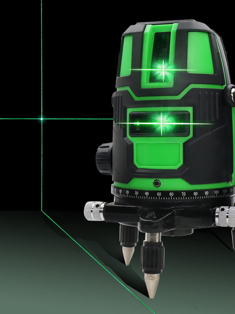 2/3/5-cross-lines Level-Self-Leveling Laser Horizontal Rotatable Green Vertical Outdoor