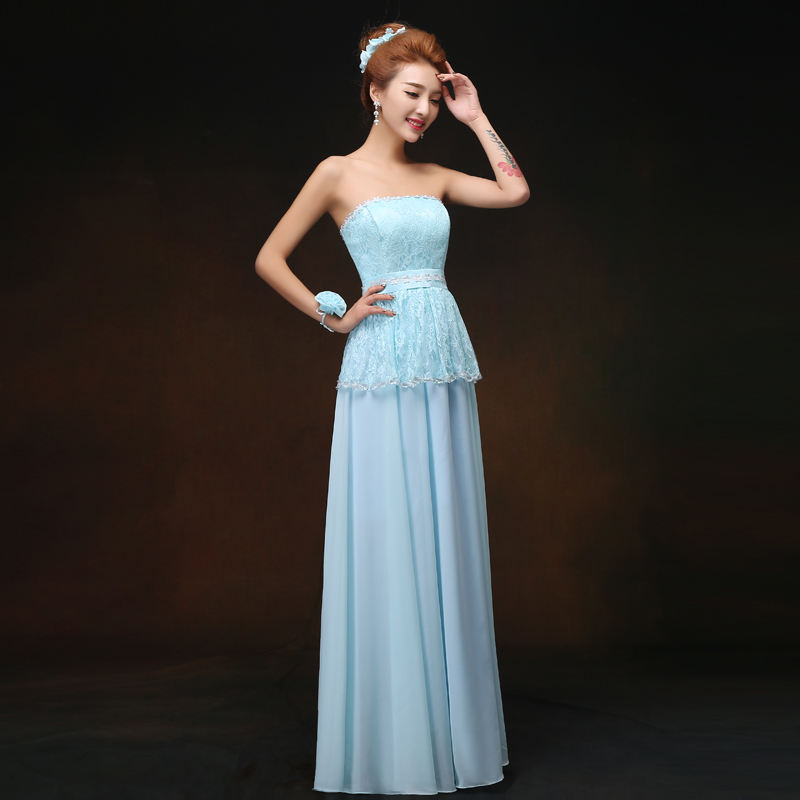Long Chiffon Bridesmaid Dresses Plus Size Vestido Largo Sirena Maid Of Honor Dresses For Weddings Sexy Sister Dress For Dinner
