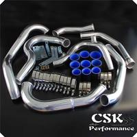Upgrade Intercooler piping hose Kit Fits Subaru WRX Impreza GDA GDB 00 05 Blue / Black/ Red
