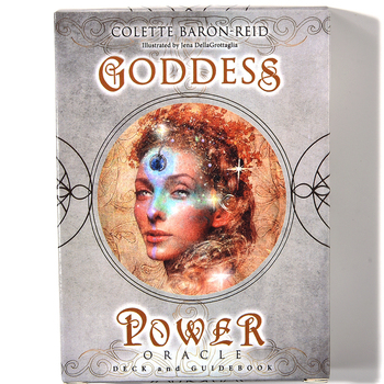 Goddess Power 52 Oracle Deck and Deck and Guidebook by Colette Baron-Reid Magic Cards Tarot Oracle Cards